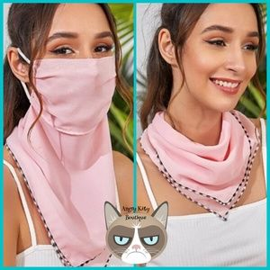 ‼️LAST ONE‼️ Pink Mask Scarf
